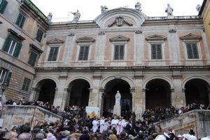 Pour assister à la bénédiction la plus insolite de Rome