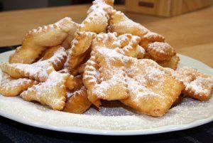 desserts chiacchiere ou frappe rome