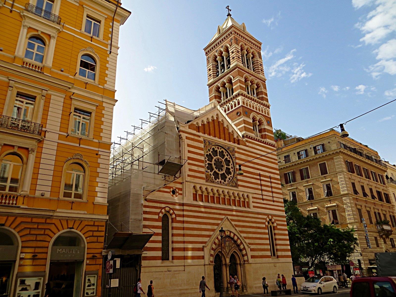 Op ra chiesa di san paolo dentro le mura destination rome for Dentro le mura