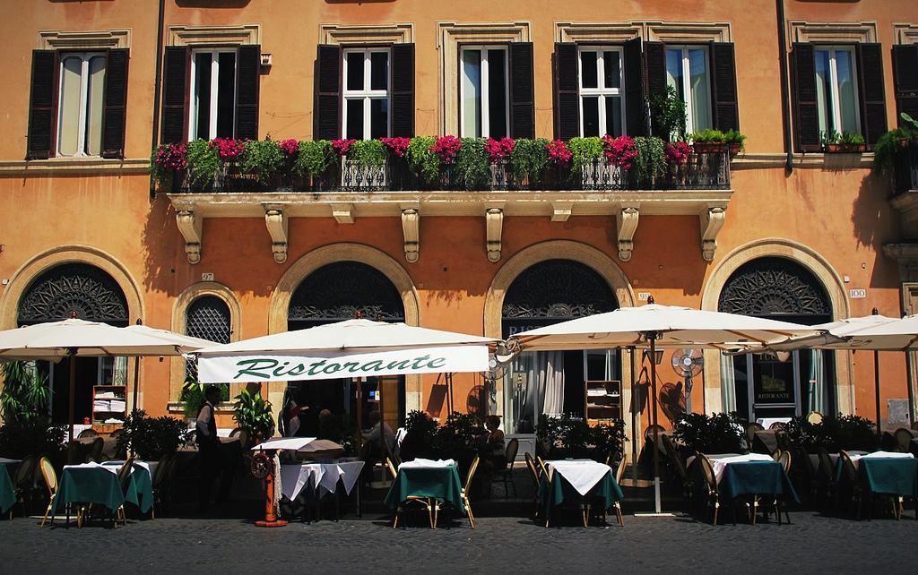 Restaurant Rome Romains.