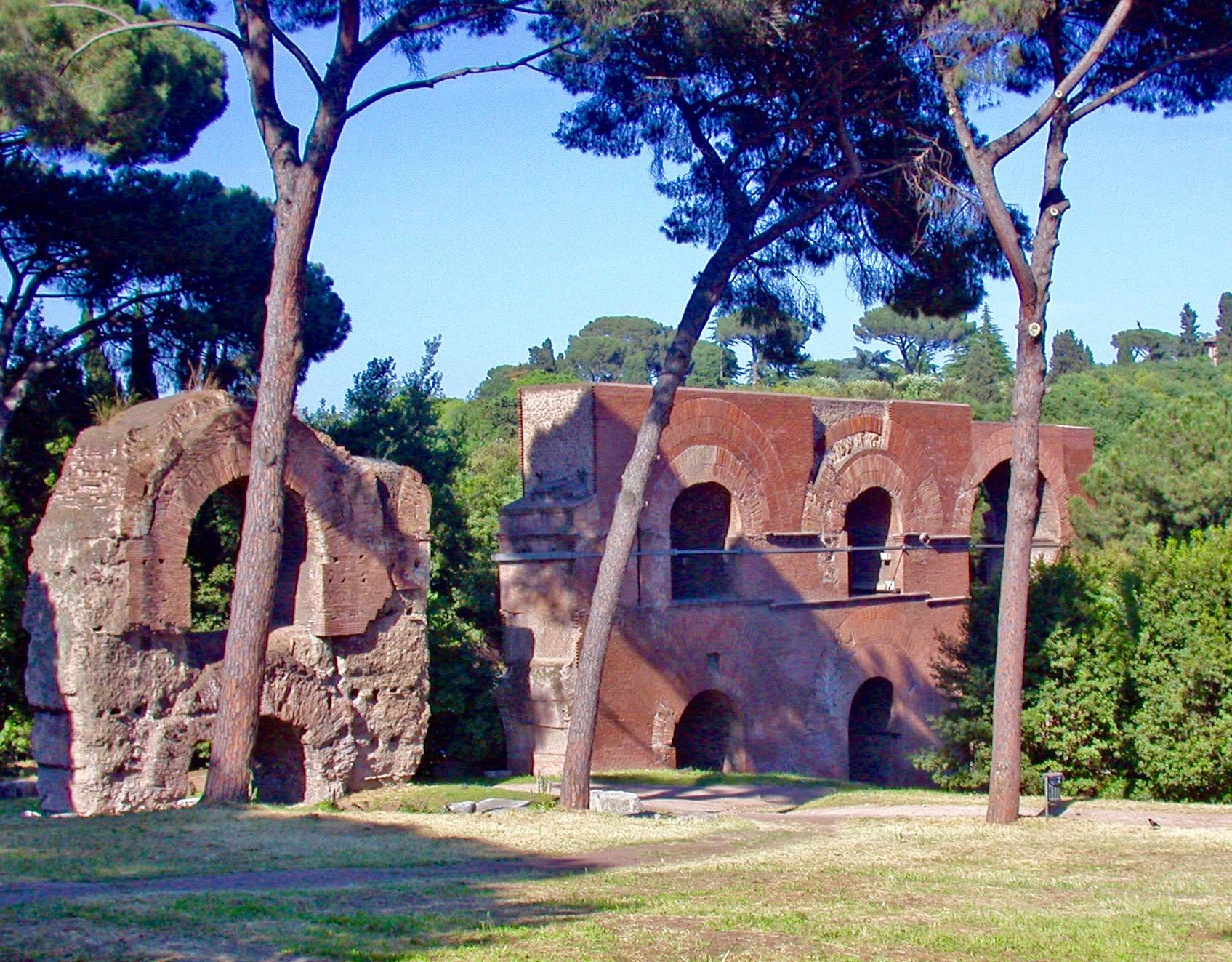 Rome aqueducs mont palatin