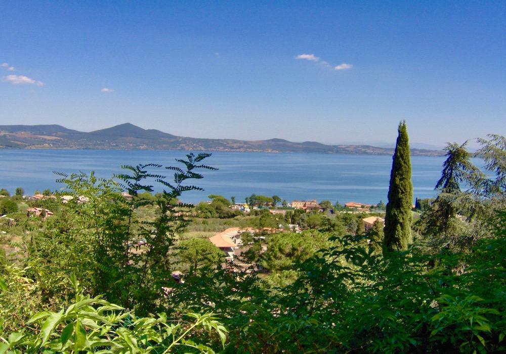 Lacs de Bracciano près de Rome