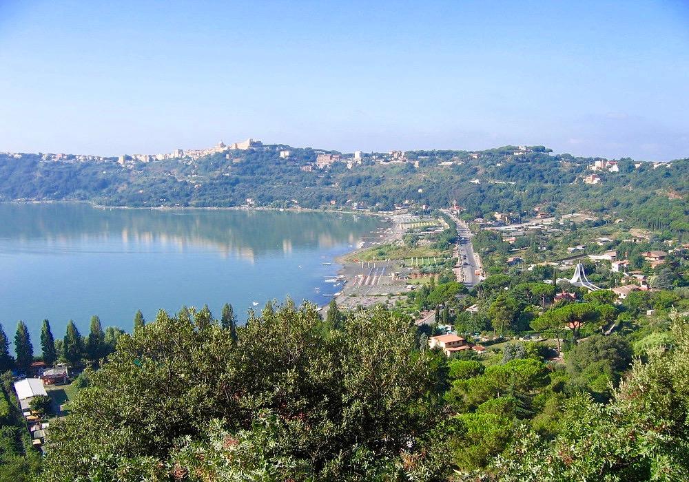 Lacs de la province de Rome Sud-Albano