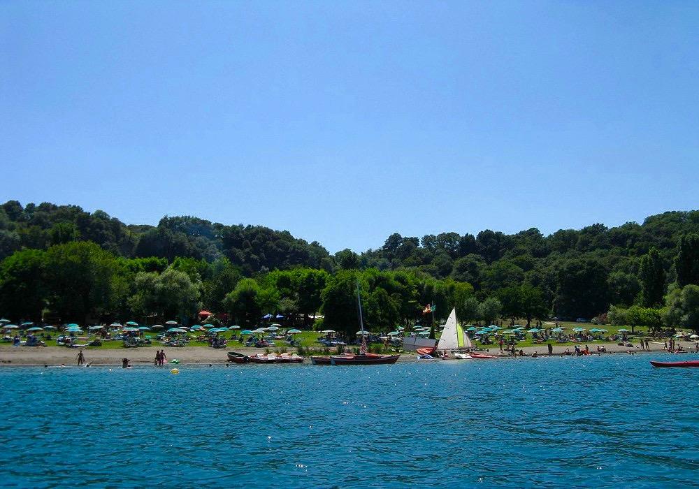Lacs province de Rome-lac de Martignano