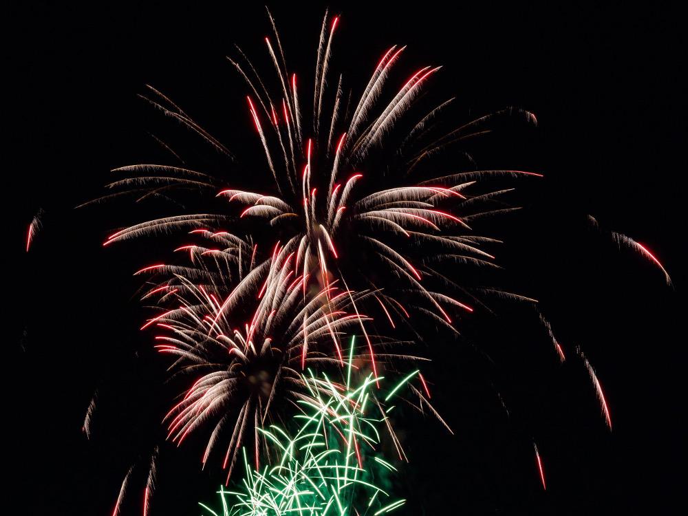 fêtes en août feu d'artifice