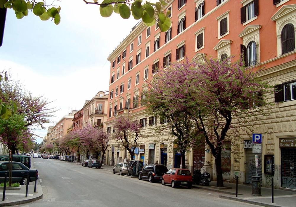 fêtes en août Rome Via Tiburtina