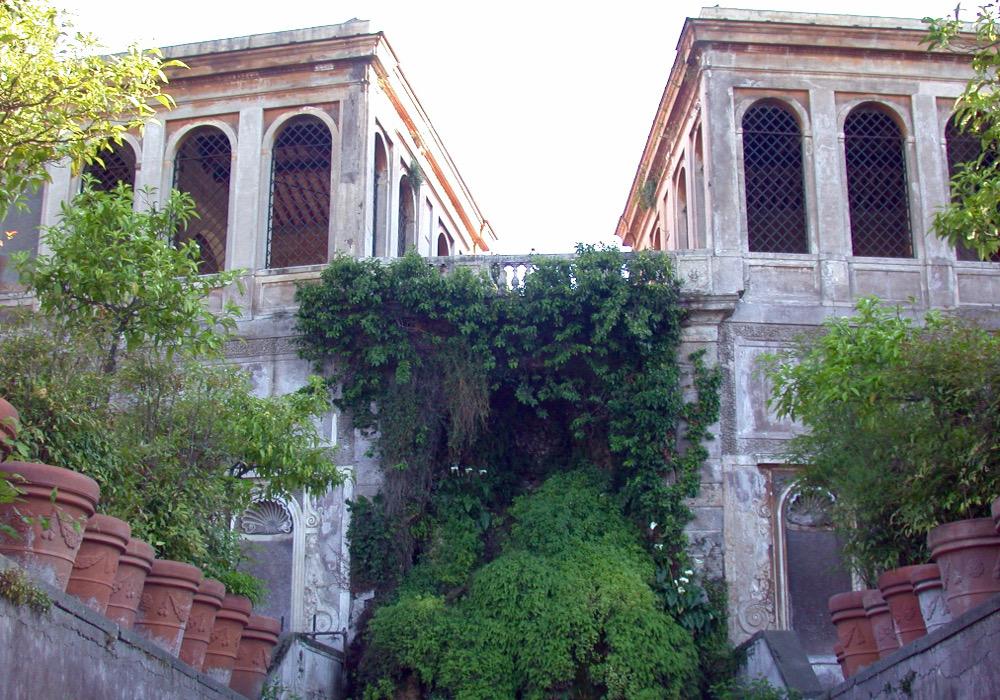 les jardins farnese rome volière