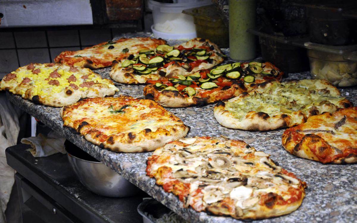 pizza chez La Pratolina rome