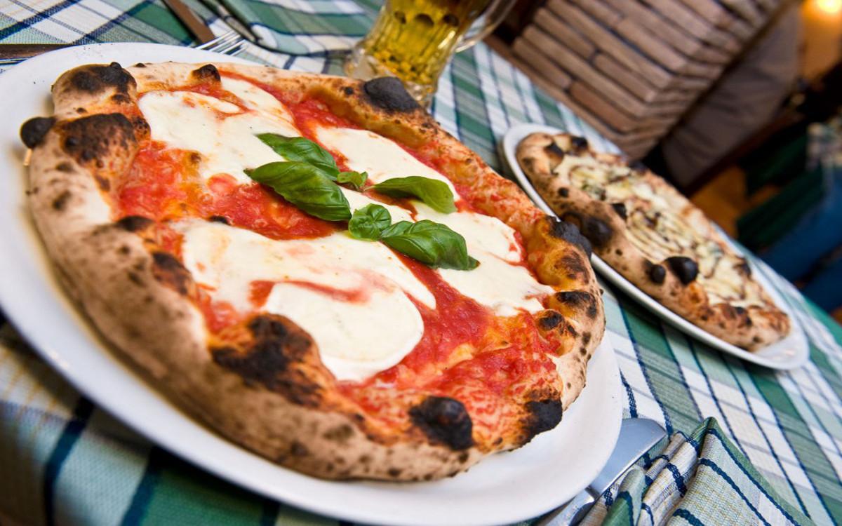 pizza chez Sforno à Rome