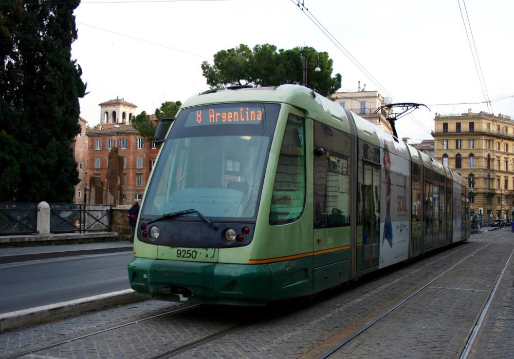 Tramway Rome Largo di Argentina