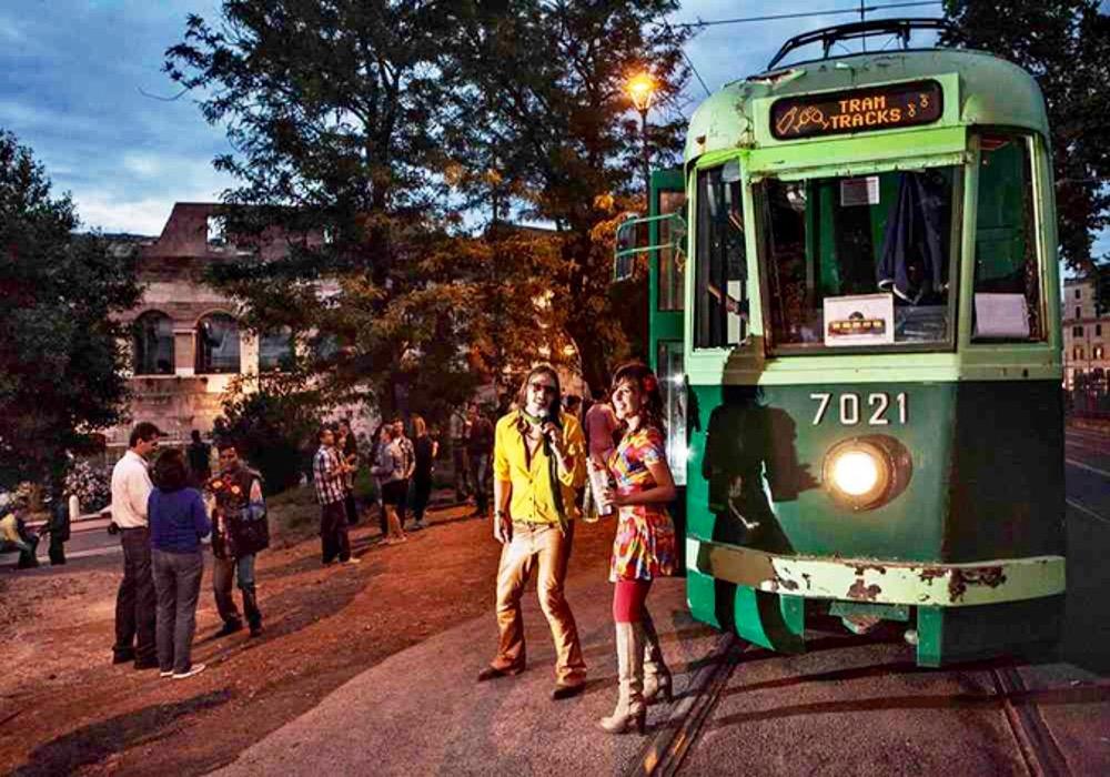 visite touristique rome tramway historique