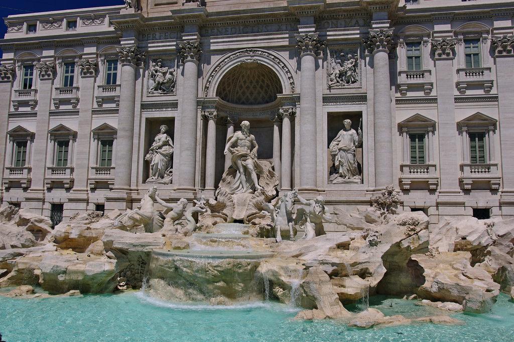fontaines Rome fontaine de Trevi
