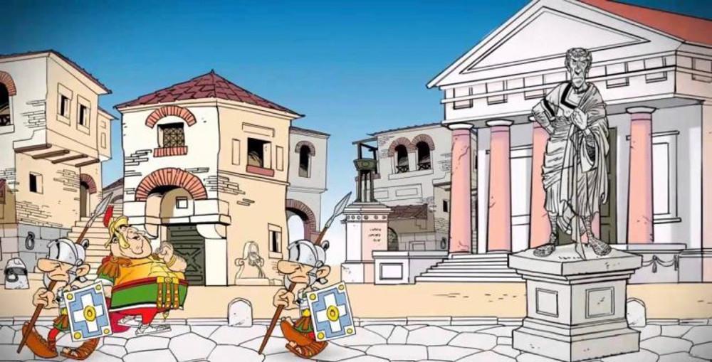 asterix-temple-cesar