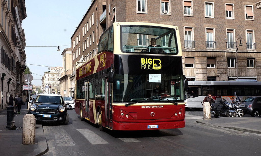 Big Bus Rome escale croisiere