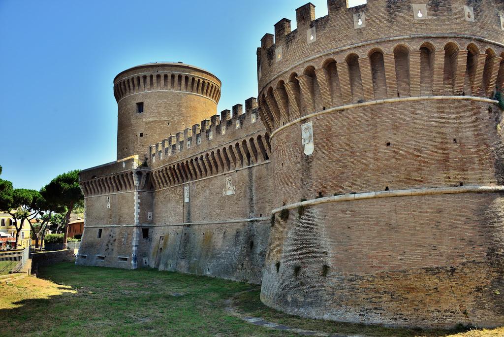 chateau ostia antica rome