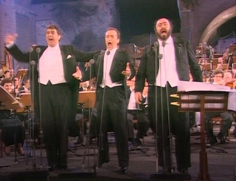 concert airs d'opéra trois ténors Rome