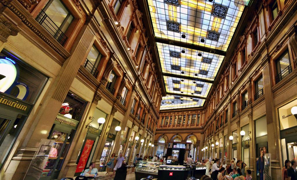 grands magasins galerie Alberto Sordi Rome