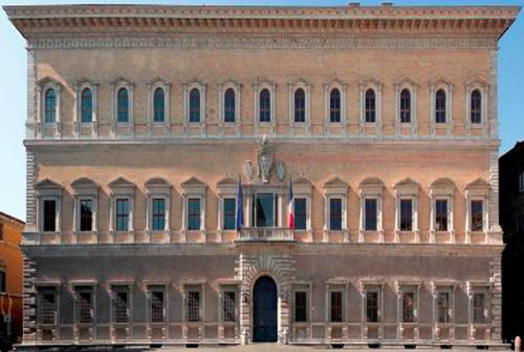palais farnese rome