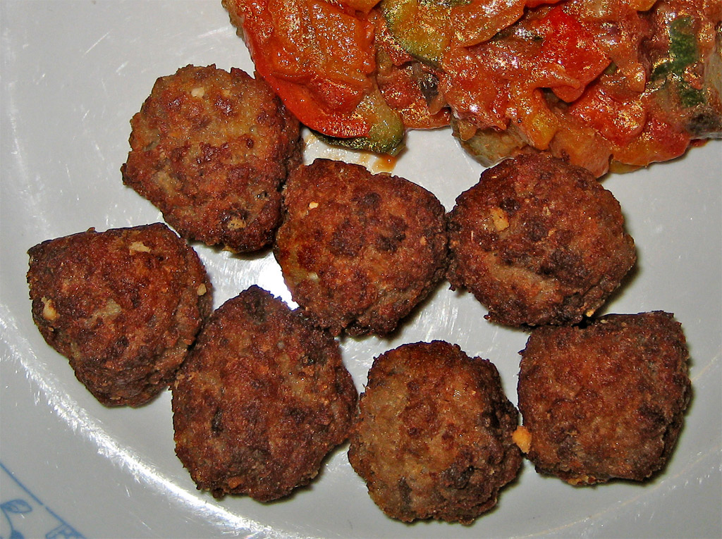Polpette cours de cuisine Rome