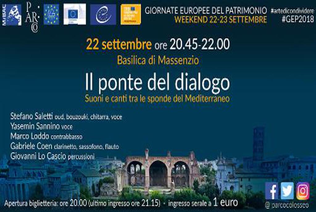 Ponte del dialogo Rome