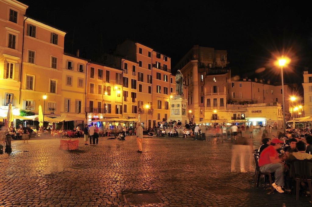 bar piazza campo de' Fiori Rome