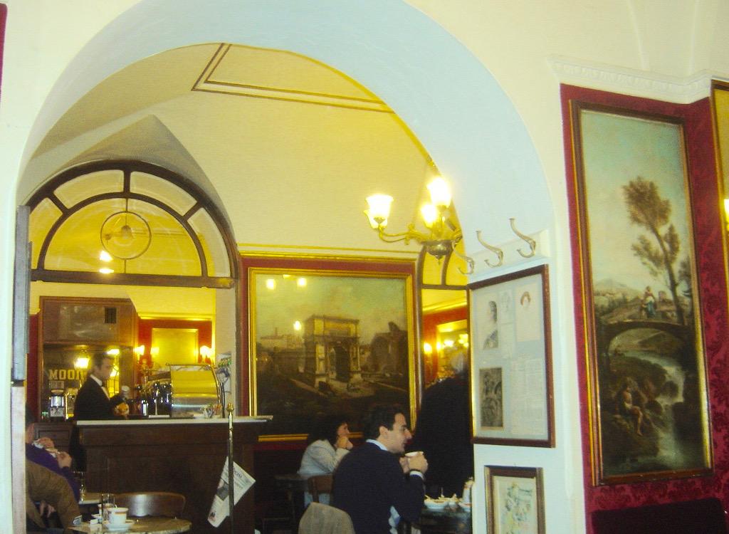 Caffe Greco tiramisu Rome