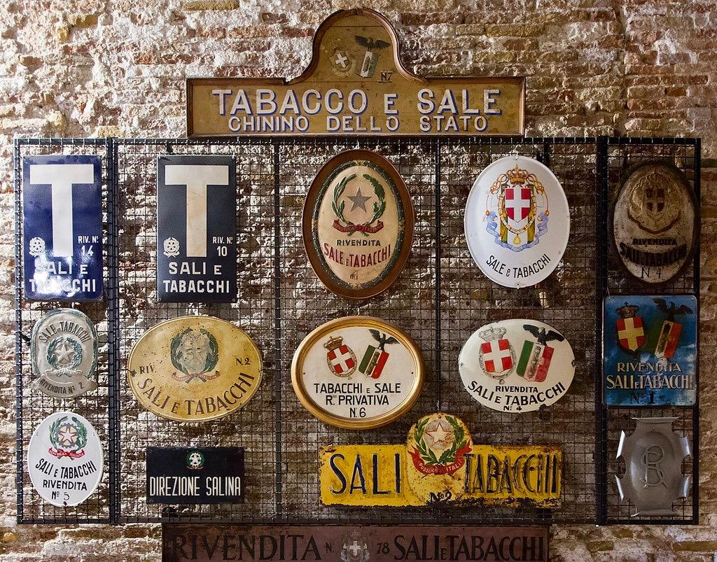 Fumer enseignes tabac Rome