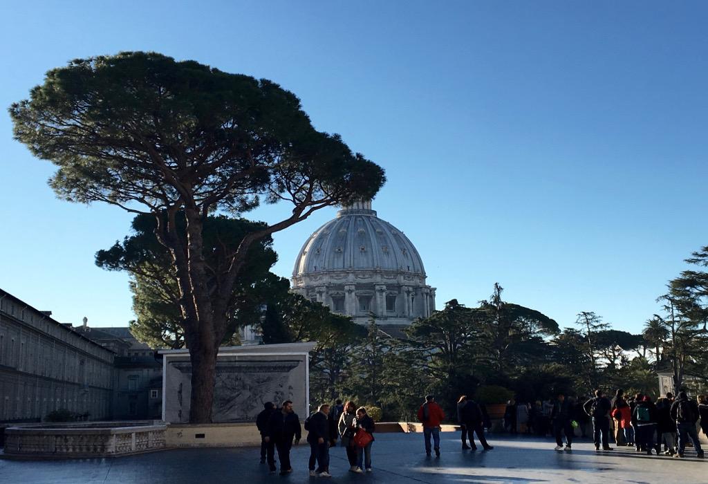 hiver Rome sites moins bondés