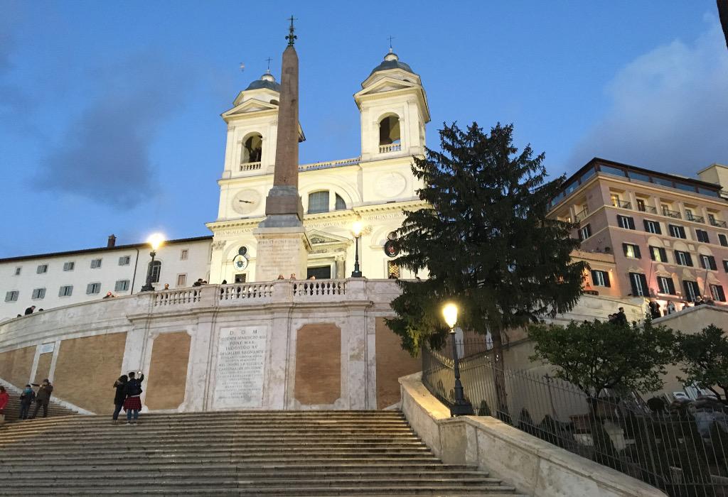hiver Rome températures moins chaudes