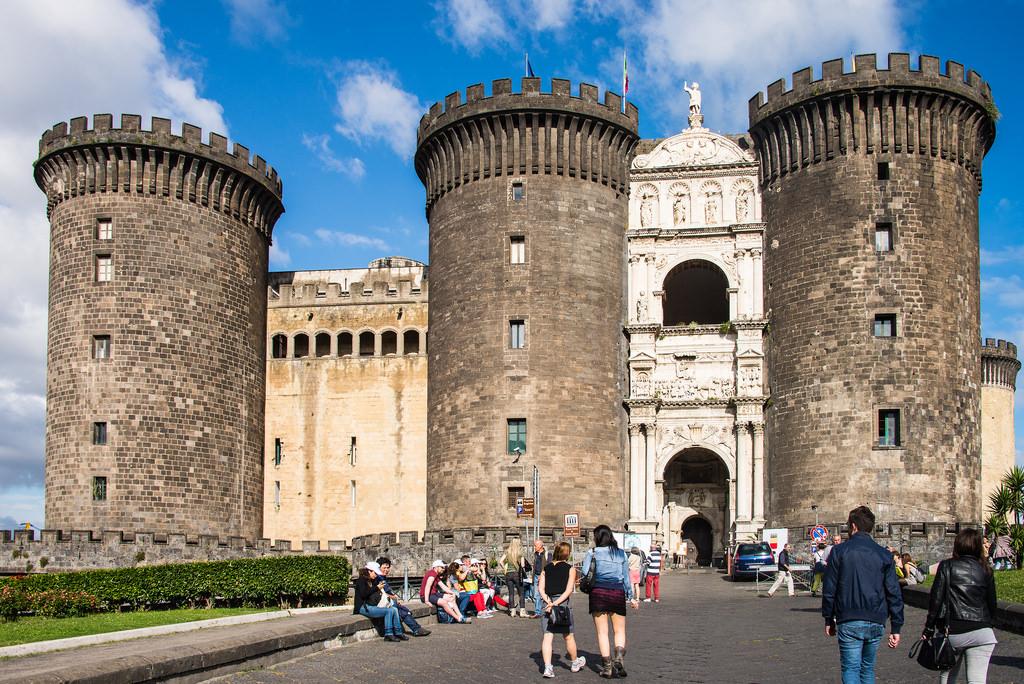 Le Castel Nuovo à Naples