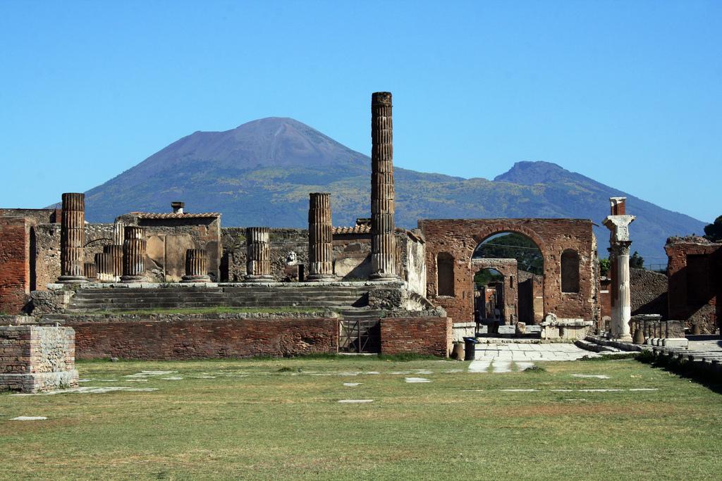 Les ruines de Pompéi (Photo : Glen Scarborough).