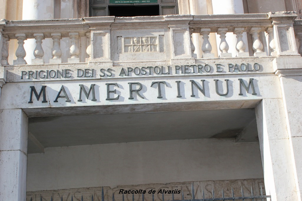prison Mamertine Pass Omnia Vatican & Rome