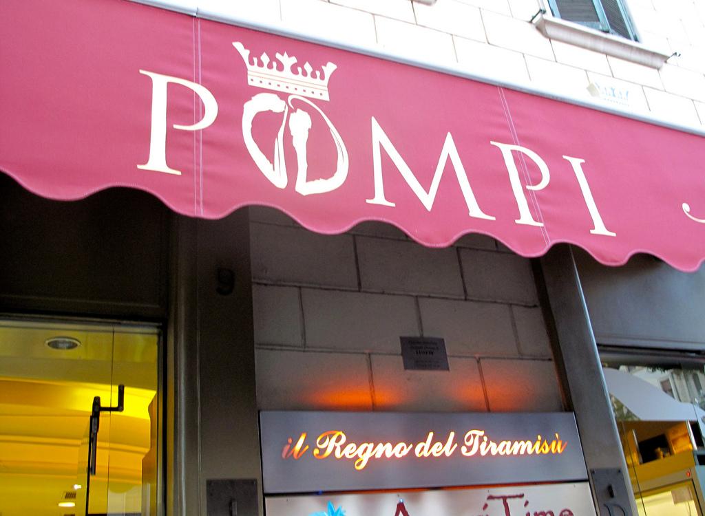tiramisu bar pompi Rome