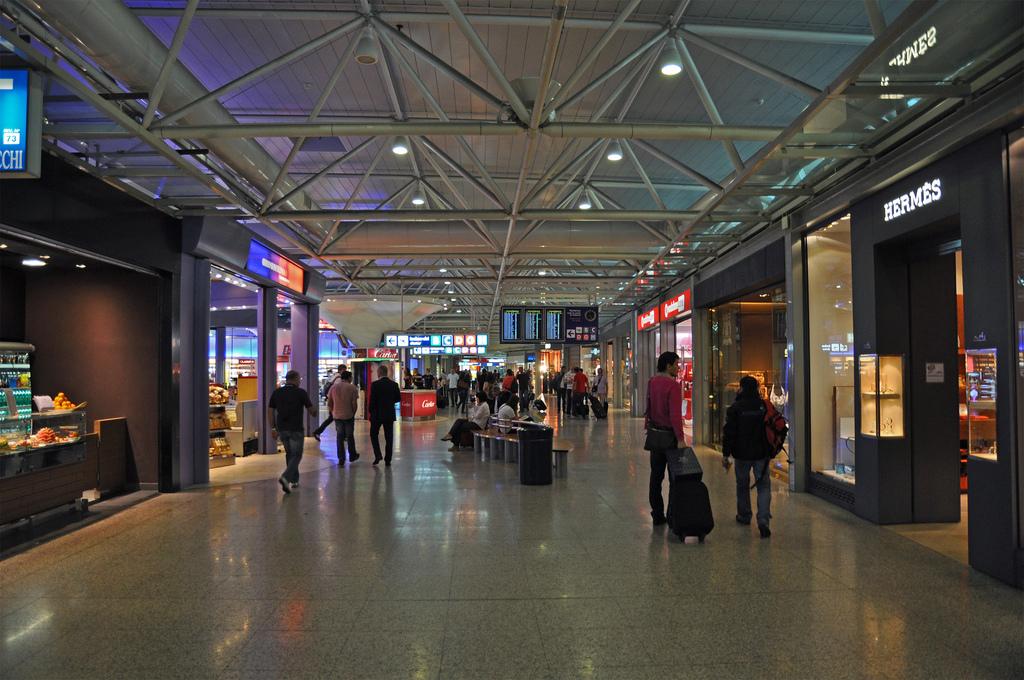 aéroports accueil fiumicino shopping