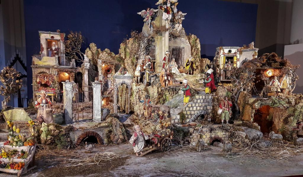 crèches de Noël Rome