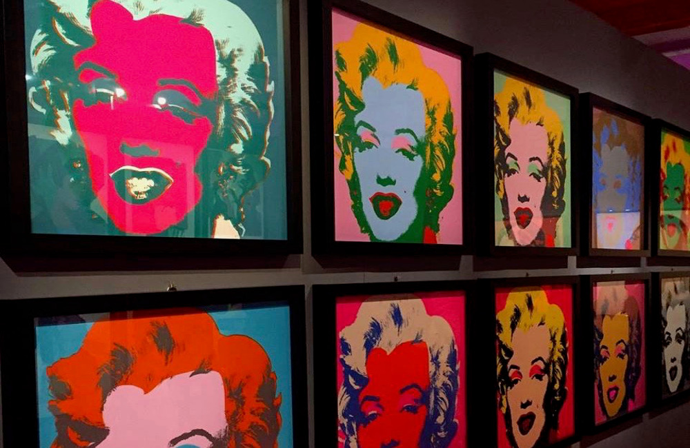 andy warhol exposition rome 25 décembre