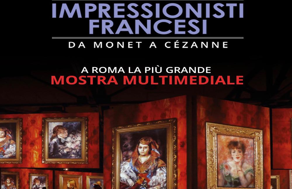expo Rome 25 décembre peintres impressionnistes