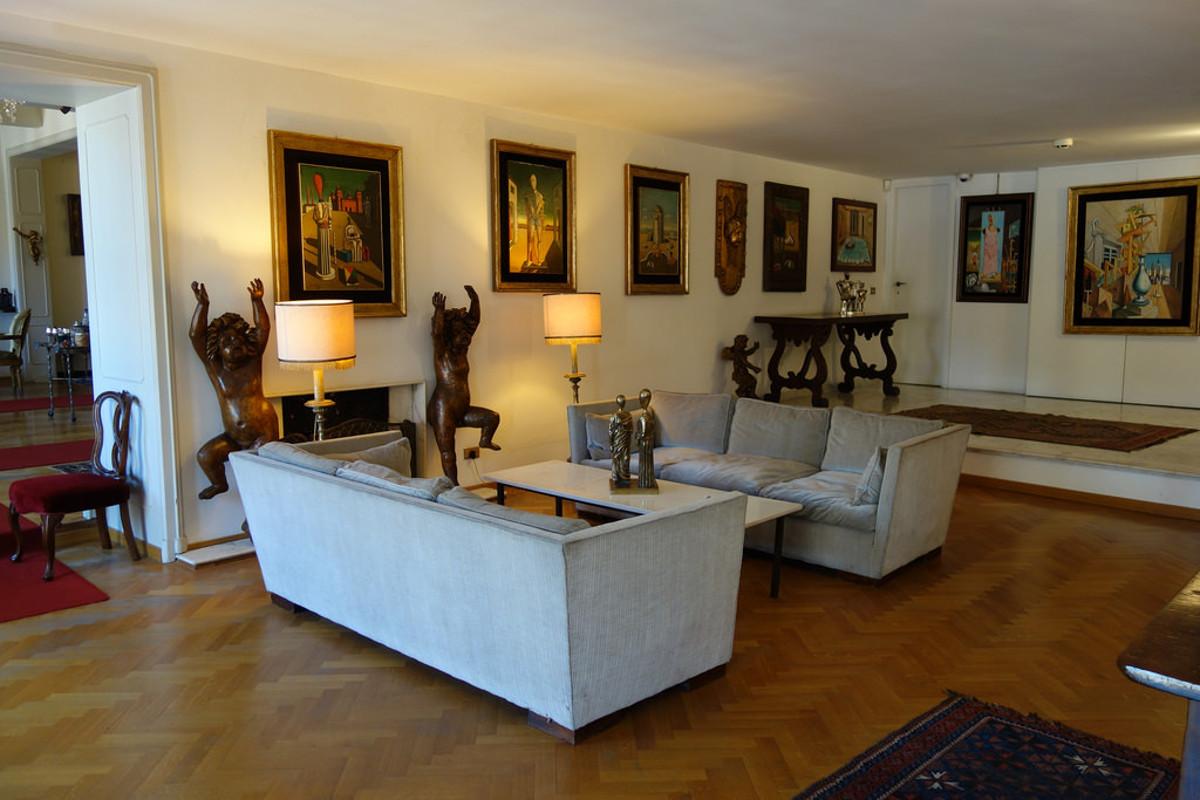 maisons-musees rome giorgio e isa de chirico