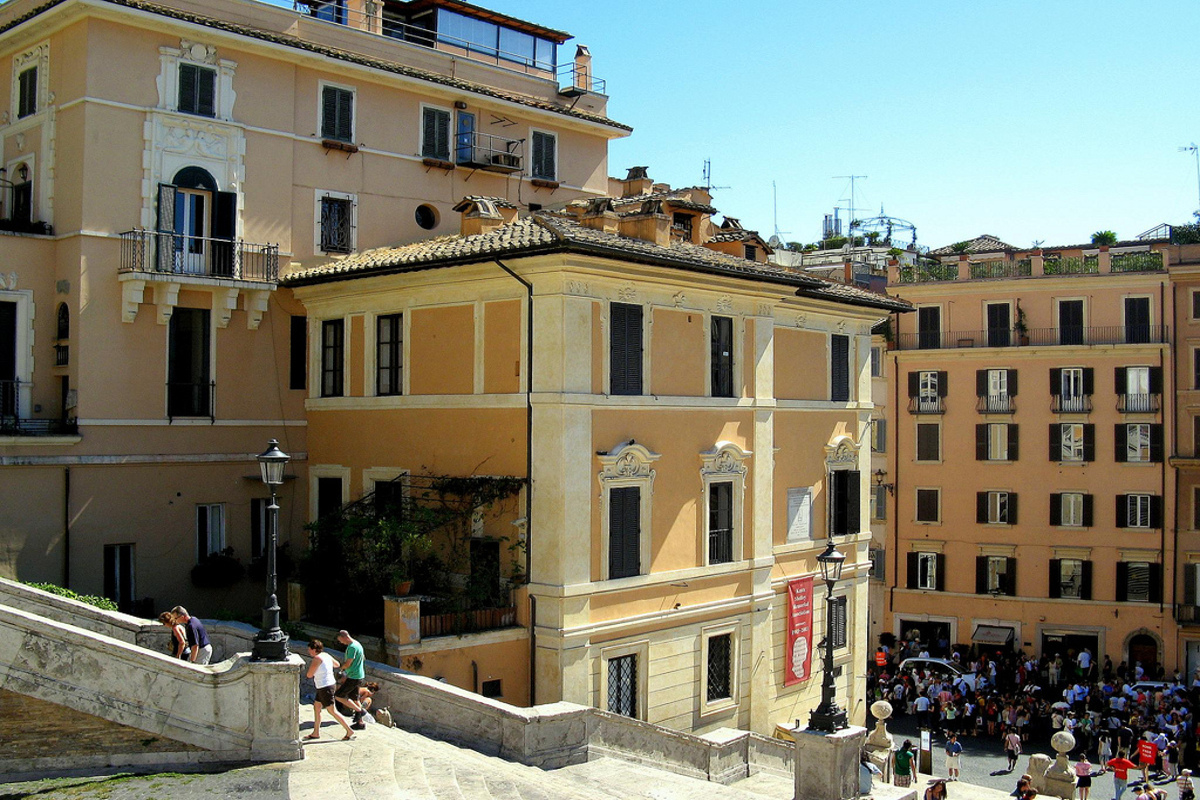 maisons-musees rome the keats shelley