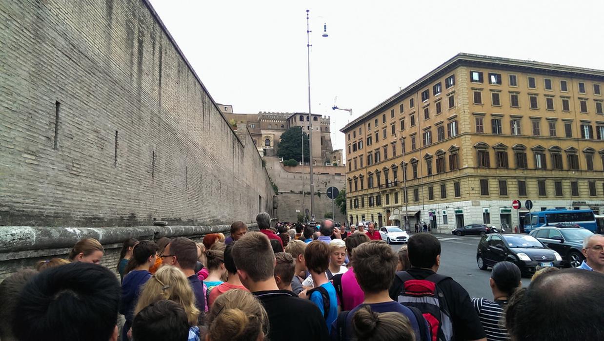 pass file attente vatican rome