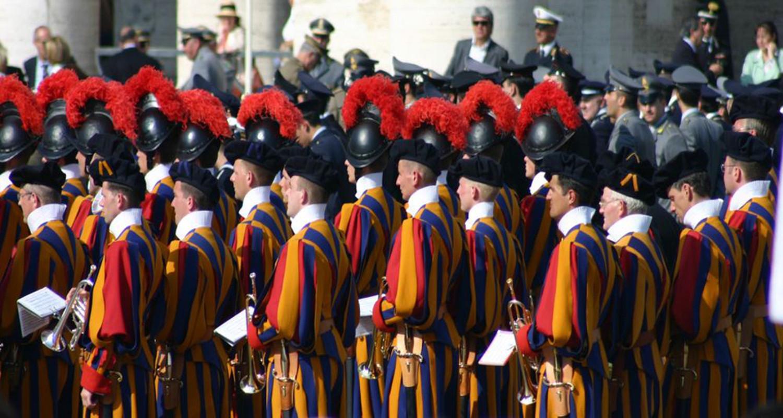 Gardes suisses Vatican Rome