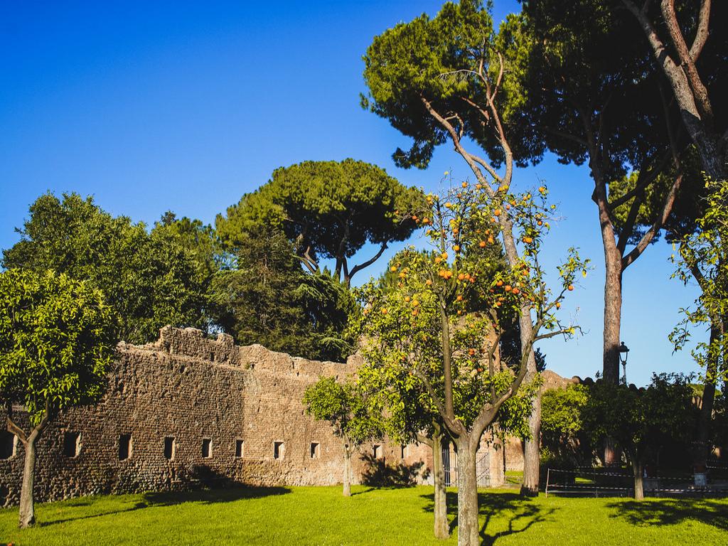 jardin des orangers Rome