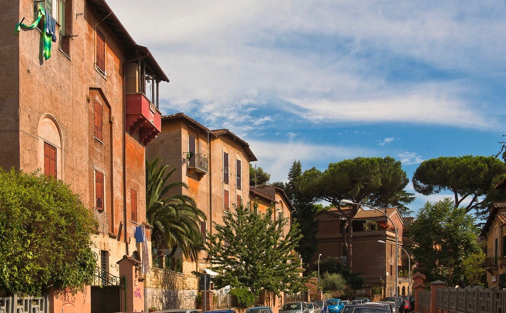 Quartier de Rome Garbatella