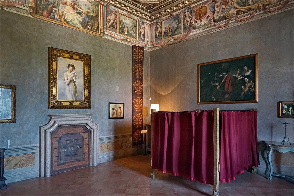 dormir chambre villa medicis rome