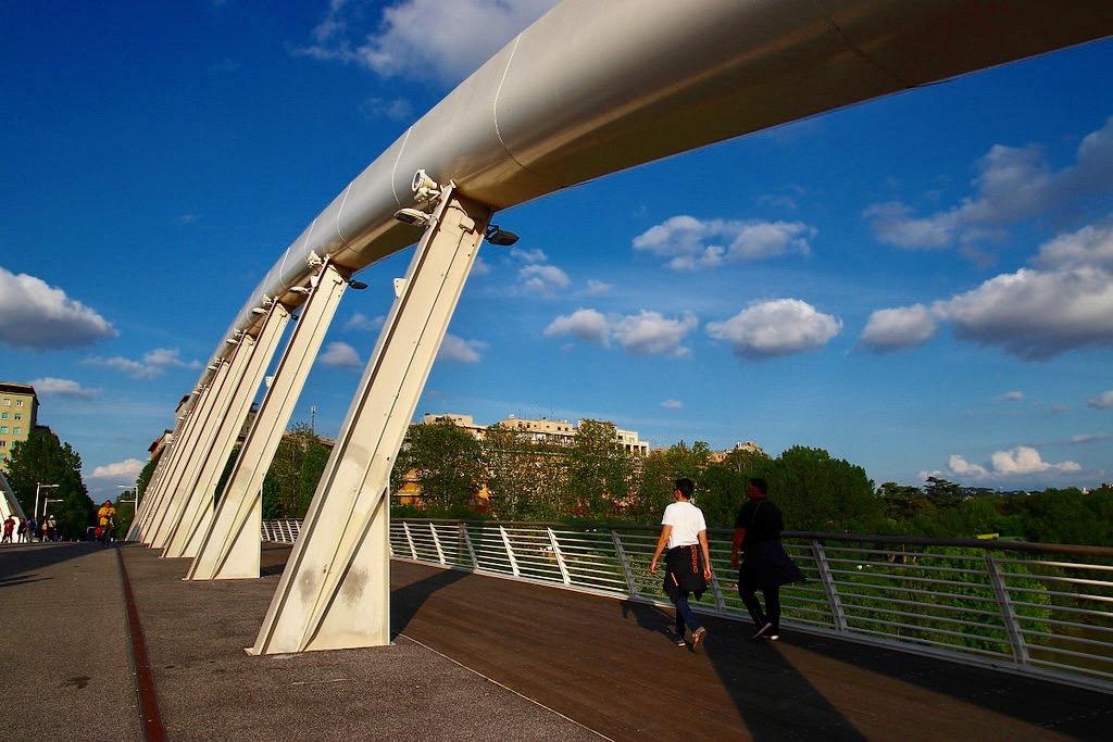 ponte della musica Flaminio Rome