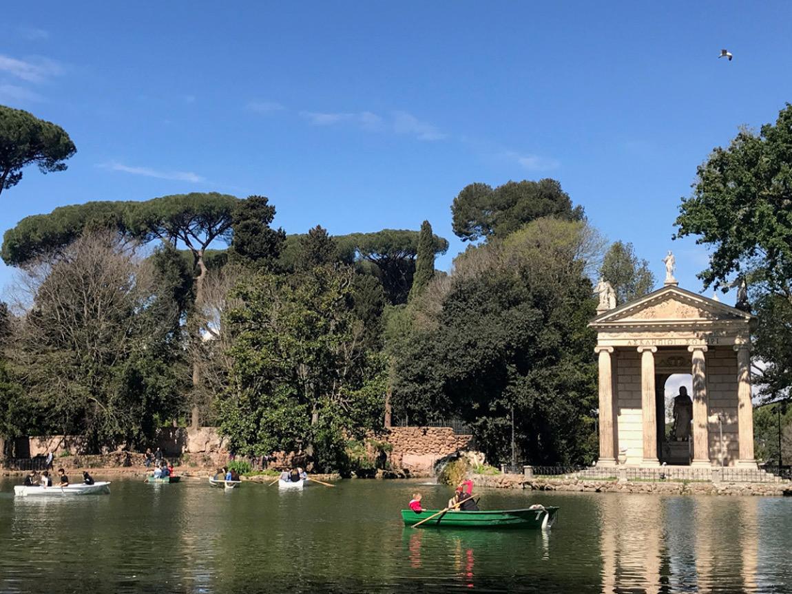 lagetto villa Borghese Rome