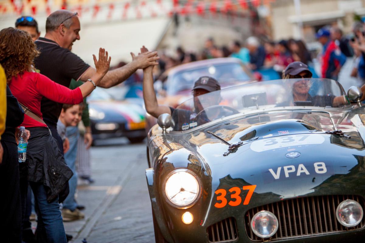 Mille Miglia course automobile Rome