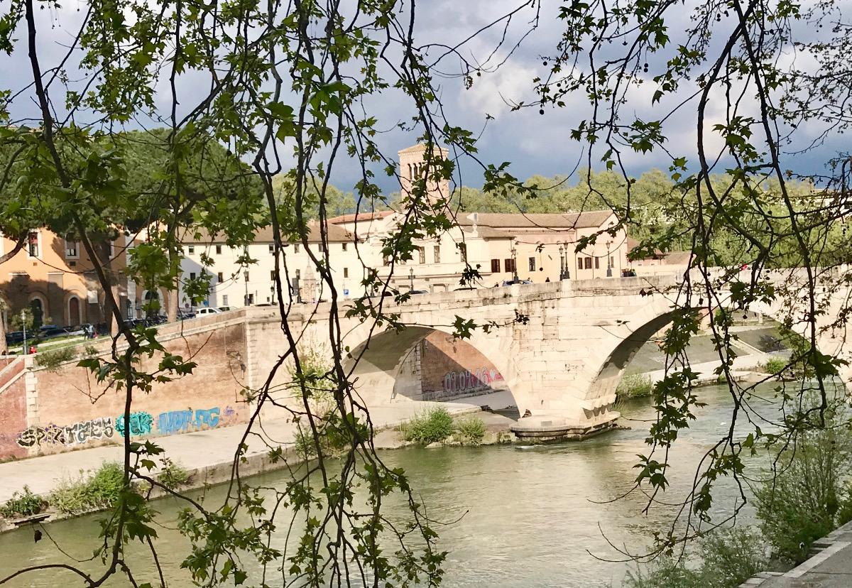 ponte cestio ponts historiques Rome