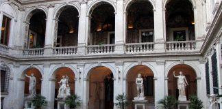 La cour intérieure du Palazzo Altemps