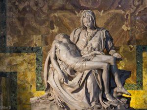La Pietà de Michel-Ange Rome